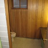 basement water closet at the back center