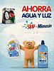 MIMOSIN fabric softeners + SKIP detergents by UNILEVER 2015 Spain 'Ahorra agua y luz'