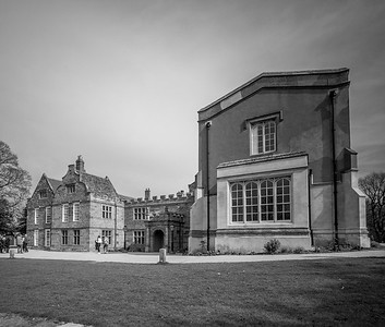 Delapre Abbey, March 2019