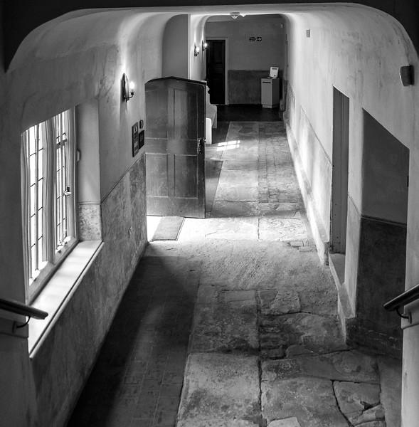 Passage, Delapre Abbey, Northamptonshire