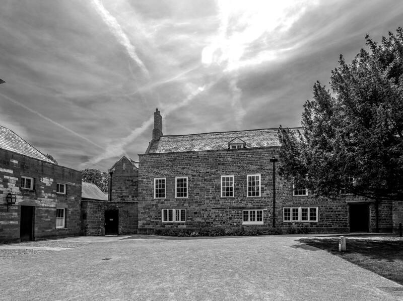 Courtyard, Delapre Abbey