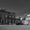 Driveway, Kelmarsh Hall, Northamptonshire
