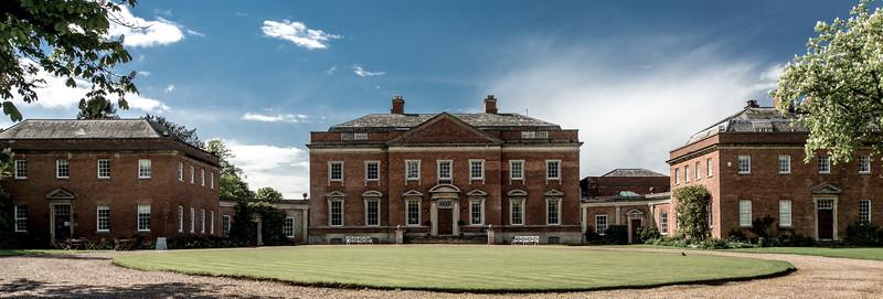 Kelmarsh Hall facade, Northamptonshire
