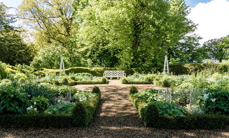 Gardens, Kelmarsh Hall, Northamptonshire
