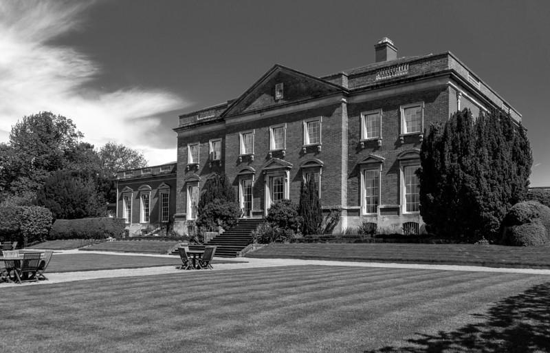 Terrace Lawn, Kelmarsh Hall, Northamptonshire