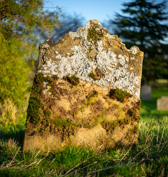 Gravestone - Thirkleby North Yorkshire 2018