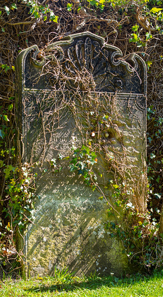 Gravestone - St. Gregory's Church Bedale North Yorkshire UK 2018