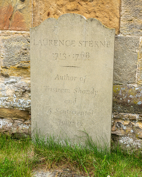 The Grave of Laurence Stern - Coxwold North Yorkshire UK 2017