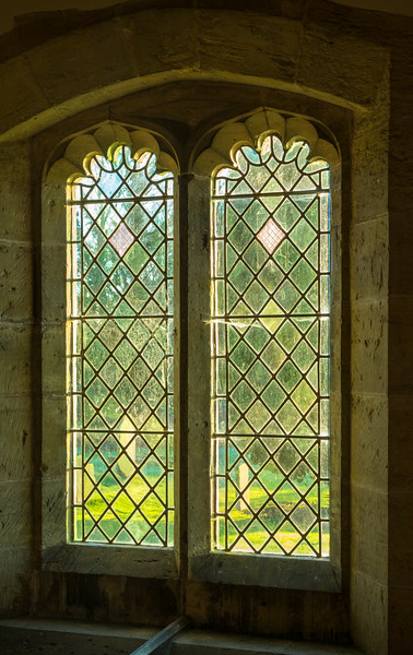 Window at St Stephen's Church - Aldwark North Yorkshire 2018