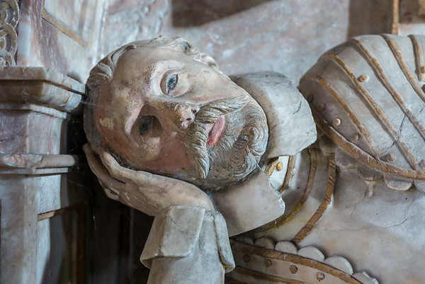 Sir Marmaduke Wyvill Monument - St Mary the Virgin  Church Masham North Yorkshire UK 2018