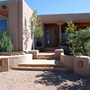 First view of our new Santa Fe house in October, 2007