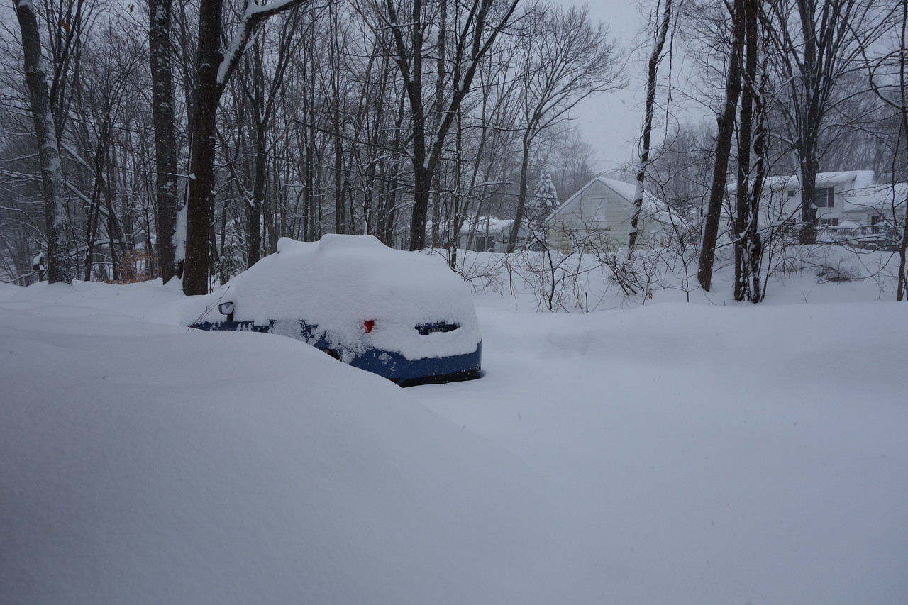 There´s a car there somewhere