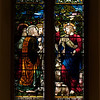 "The Church of the Incarnation, Christian Nurturing by Henry Holiday <br><br> This window embodies the ideals of parental and Christian nurturing. In the lower portion, Jacob blesses his children. In the upper portion of the window, Christ gives His commission to Saint Peter. <br><br> Christian Nurturing by Henry Holiday <br><br> This window embodies the ideals of parental and Christian nurturing. In the lower portion, Jacob blesses his children. In the upper portion of the window, Christ gives His commission to Saint Peter. <br><br> Henry Holiday (1839-1927) was an English historical genre and landscape painter, stained glass designer, illustrator, and sculptor. He is considered to be a member of the Pre-Raphaelite school of art, according to <a href=""http://en.wikipedia.org/wiki/Henry_Holiday"">Wikipedia.</a>  Holiday was born in London and at age 15 was admitted to the Royal Academy. Through his friendship with several artists there, he was introduced to artists of the ""Pre-Raphaelite Brotherhood"". This movement was to be pivotal in his future artistic and political life. From Wikipedia: ""The group's intention was to reform art by rejecting what it considered the mechanistic approach first adopted by Mannerist artists who succeeded Raphael and Michelangelo. Its members believed the Classical poses and elegant compositions of Raphael in particular had been a corrupting influence on the academic teaching of art, hence the name ""Pre-Raphaelite""."" <br><br> In 1861, Holiday accepted the job of stained glass window designer for Powell's Glass Works. During his time there he fulfilled over 300 commissions, mostly for customers in the U.S. He left in 1891 to set up his own glass works in Hampstead, producing stained glass, mosaics, enamels and sacerdotal objects. <br><br> Holiday's stained glass work can be found all over Britain and some of his best is at Westminster Abbey according to Wikipedia. In addition to his stained glass work, Holiday was a painter; his works include The Burgess of Calais, The Rhine Maiders, Dante and Beatrice. He was commissioned by Lewis Carroll to illustrate The Hunting of the Snark. He remained friends with the author throughout his life."