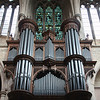 "Southwark Cathedral Organ, T.C. Lewis 1897, Willis III 1952, Harrison & Harrison 1991 <br><br> Lewis & Co. of south London built the main organ for the cathedral in 1897. ""Thomas Christopher Lewis, the company's founder, was renowned for building instruments that had a bright, vibrant tone which, in part, was due to his use of low wind pressures. Consequently, he was somewhat out-of-step with the trend at the time, which was tending towards high wind pressures and rather thicker tone,"" <a href=""http://cathedral.southwark.anglican.org/worship/music-and-choirs#organs"">according to the church website.</a> Noted Victorian architect Arthur Blomfield designed the case. <br><br> ""Apart from routine maintenance, the instrument remained untouched until 1952, when Henry Willis & Son undertook a major rebuild, during which the wind pressures were increased.""  <br><br> ""Some years after the rebuild it was thought that the Willis changes, though undoubtedly well-intentioned, detracted too much from the original concept, so the decision was taken to restore the instrument to the Lewis specifications. The Durham-based firm of Harrison and Harrison was engaged and the work was carried out in two stages."" The first stage was in 1986 and the second was in 1991. The church website provides technical details which are beyond my comprehension."