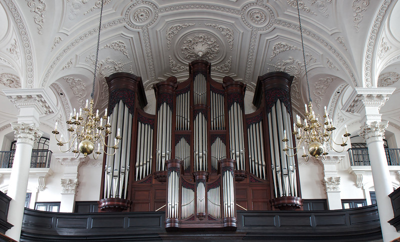 """Saint Martin-in-the-Fields J.W Walker and Sons Organ <br><br><a href=""""http://www.stmartin-in-the-fields.org/church/music-in-worship/the-organ-of-st-martin-in-the-fields/"""">From the church  website:</a> <br><br> Since Handel played at the opening recital of the original Schreider organ, the organ at St Martin-in-the-Fields has delighted and inspired generations of worshippers and concert-goers. <br><br> The current instrument, built by J W Walker &amp; Sons in 1990, is considered one of the finest in London, and was awarded The Carpenters Award for the quality of its casework. The full specification can be found below. The earliest mention of an organ in St Martin-in-the-Fields dates back to 1526. The first organ to be installed in the new Gibbs church of 1726 was built by Christopher Schreider in 1727 with 3 manuals, pedals and 22 stops. New organs by Gray (1799) and Bevington &amp; Sons (1853) replaced this instrument, but despite numerous rebuildings and modifications, the organ became very unreliable, with almost a third of it in an unusable state by the 1960s. This was finally replaced in 1990 by the current J W Walker &amp; Sons instrument, which is widely regarded as the firm's flagship organ."""