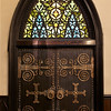 Incarnation Door and Stained Glass Window by Louis Comfort Tiffany