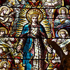 "Saint Paul the Apostle Church, High Altar Stained Glass Windows by Mayer & Co. of Munich  These beautiful stained glass windows above the altar were made by Mayer & Co. of Munich, now known as Franz Meyer of Munich, Inc. The firm is famous for stained glass design and manufacturing. Founded in 1847, the firm was popular in the late 19th and early 20th centuries for providing stained glass to large Roman Catholic churches constructed during that period. <a href=""http://en.wikipedia.org/wiki/Franz_Mayer_%26_Co."">Wikipedia</a> provides a long list of churches that feature Mayer stained glass windows throughout the world.   The company still exists and the New York Mass Transit Authority is one client. Franz Meyer mosaics can be found at the South Ferry, 86th Street, 42nd Street and 8th Ave., Penn Station, and Bryant Park subway stations just to name a few. For more detail on their work, see the <a href=""http://www.mayer-of-munich.com/""> Franz Meyer company website.</a>"