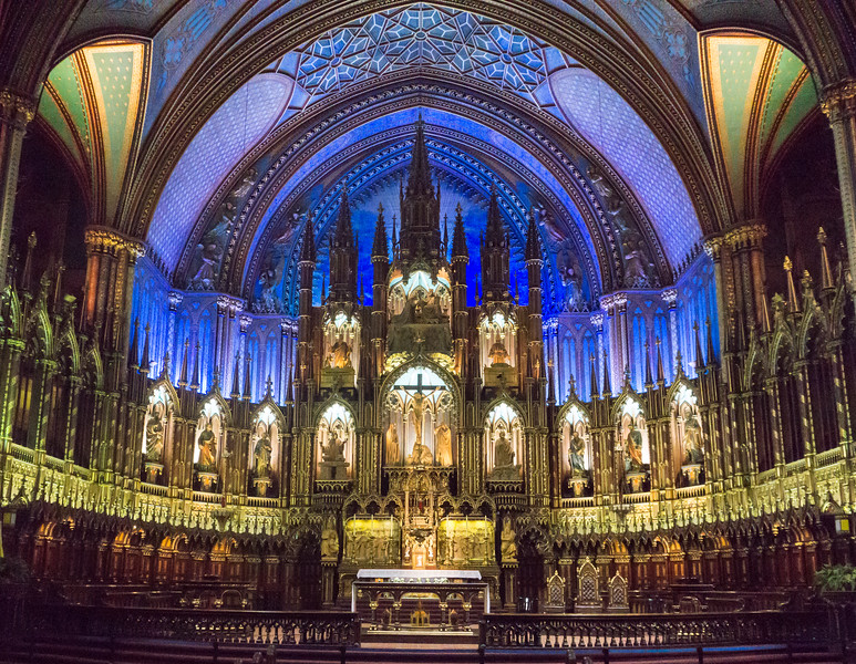 Notre Dame Basilica of Montreal