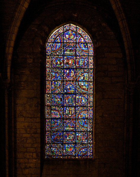 Chartres Cathedral<br /> <br /> I couldn't find anything on the web on this window.