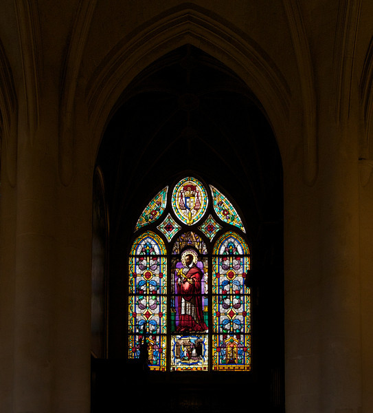 Saint-Germain-l'Auxerrois <br /> <br /> I couldn't find any information on this window.