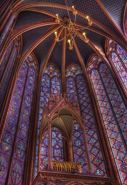 Sainte-Chapelle Upper Chapel