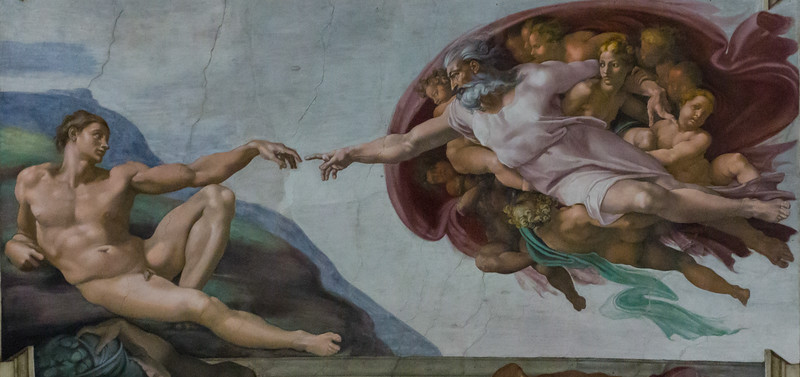 The Sistine Chapel Ceiling,  Michelangelo