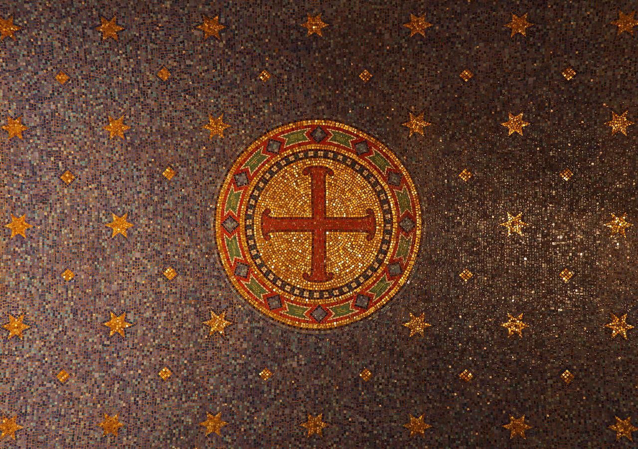 Christ Church Mosaic Ceiling