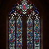 "Church of the Heavenly Rest Stained Glass Windows by James Humphries Hogan <br><br> James Humphries Hogan (1883-1948) designed the stained glass windows at the Church of the Heavenly Rest. He was a noted stained glass artist for James Powell & Sons (Whitefriars), Ltd. of London from age 14 until his death in 1948. He made windows for many of England's churches including the 100 foot high central windows of Liverpool Cathedral. He also worked on most of the windows in Saint Thomas Episcopal church on 5th Avenue in Manhattan.  <br><br> The firm of James Powell and Sons, also known as Whitefriars Glass was an English glassmaker and stained glass window manufacturer. The company started in the 17th century but became well known as a result of the 19th century Gothic Revival. In 1962 the company name was changed back to Whitefriars Glass Ltd. It specialized in freeform glass ware until Caithness Glass purchased the firm in 1981. See <a href=""http://en.wikipedia.org/wiki/James_Humphries_Hogan"">Wikpedia</a> for more detail."