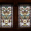 "Fifth Avenue Presbyterian Stained Glass  The beautiful stained glass windows were designed and produced in Montreal, Canada. According to <a href=""http://www.nyc-architecture.com/MID/MID041.htm"">NYC Architecture</a>, the designs, ""…inspired by the English Reform precepts of the 19th century, allow more light to penetrate the interior. There were no Biblical figures of saints who could be worshiped apart from God - an iconoclastic fear still prevalent among some austere 19th century Presbyterians."""