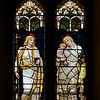 "Faith and Charity by Henry Holiday <br><br> From the <a href=""http://www.churchoftheincarnation.org/about-incarnation/landmark-building/the-window-tour/faith-charity-10/"">Incarnation website:</a>  <br><br> In the nave is a window designed to show to sides of the Christian character, Faith and Charity, as suggested by the figures of the Virgin Mary and Dorcas (an early pious Christian woman who was raised from the dead by Saint Peter and noted for her good works; she is sometimes called Tabitha). The upper portion displays Christ and again the Virgin Mary with the infant Jesus. The inscription reads: In as much as you have done it with one of the least of these my brethren, you have done it with me. The window was designed by Henry Holiday of London, after a design by Edward Burne-Jones, a Pre-Raphaelite painter and close associate of William Morris."