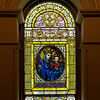 The Church of Saint Francis Xavier Stained Glass Window <br /> <br /> This window is near the altar.
