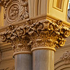 The Church of Saint Francis Xavier Wood Carved Pillars