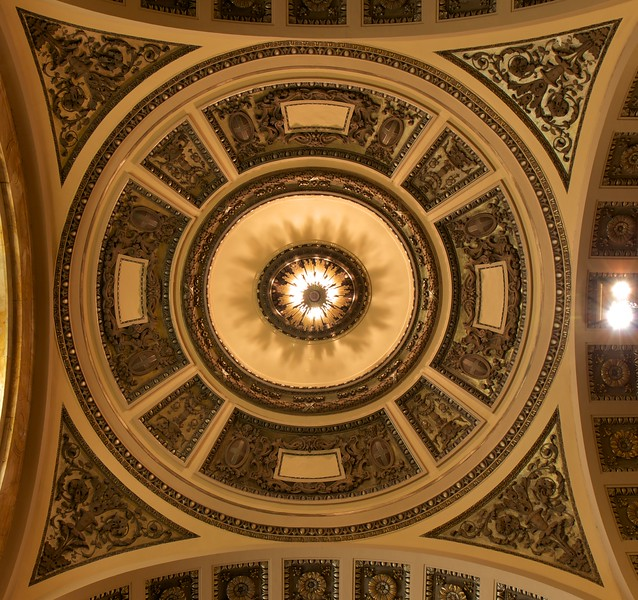 The Church of Ignatius Loyola Ceiling
