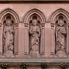 Saint James' Church Statues Above Entrance