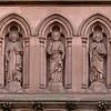 Saint James' Church Statues Above Entrance