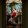 Saint Joseph's Yorkville Catholic Church Stained Glass Window