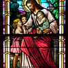 "Saint Patrick's Old Cathedral Stained Glass Window <br><br> I don't know much about the stained glass windows at the cathedral. The only information I have found was that after the Civil War, the Italian community made the church their home and contributed some of the finest stained-glass work in North America to the church according to <a href=""http://www.nyc-architecture.com/SOH/SOH038.htm"">New York City Architecture.</a>"