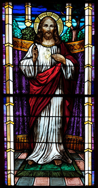 Saint Patricks Old Cathedral Stained Glass Window Brbr I Don