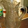 Cut glass pitcher (NY)