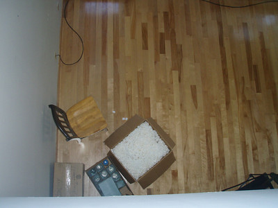 A few little boxes - I moved over all the breakable pottery stuff first.