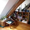 Bookshelf and corner (work in progress)