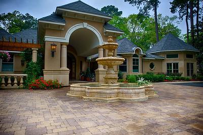 Photos taken for Houston GardenScapes homes.