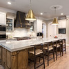 Kitchen with Gold Accents