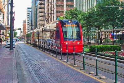 Metro Train on Main Street