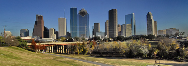 Panoramic view of Houston, Texas