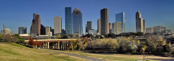 Panoramic view of Houston, Texas