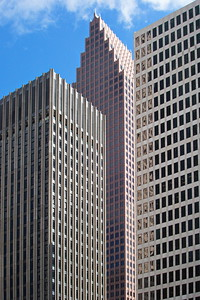 Bank of America Center (middle)