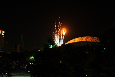 Friday night Astros Fireworks