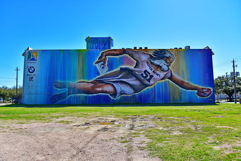 Preservons la Creation:  Largest Wall Mural in Houston