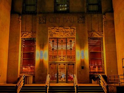 City Hall Entrance Doors